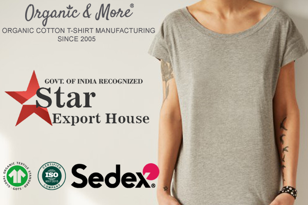 Organic Cotton T-shirt Manufacturers, Suppliers, Wholesalers And Exporters In India